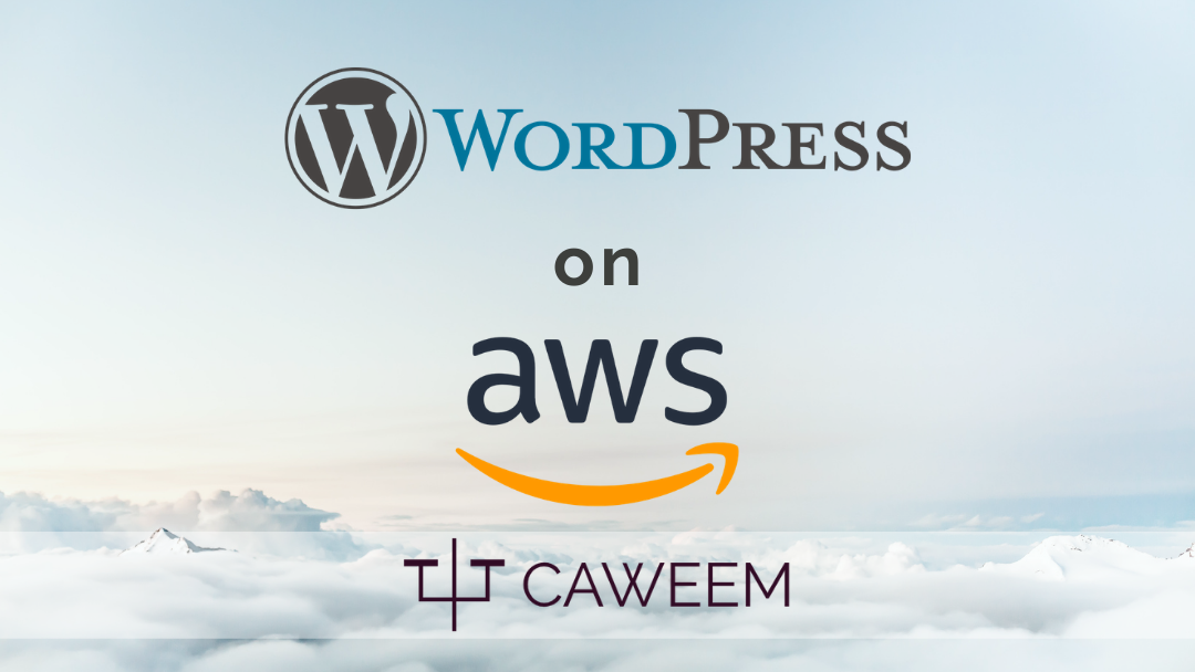 how to create a wordpress website on aws hosting