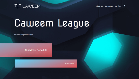 divi review of divi templates using the sports team template for caweem
