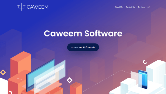 divi review of divi templates using the digital products template for caweem
