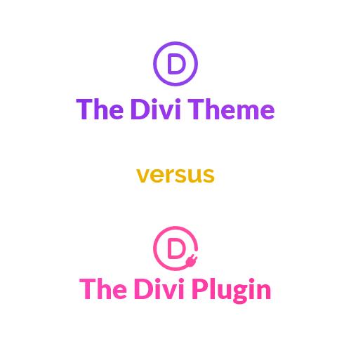divi theme versus divi builder