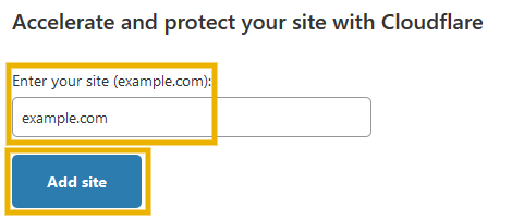 add website on cloudflare to install cloudflare ssl on godaddy
