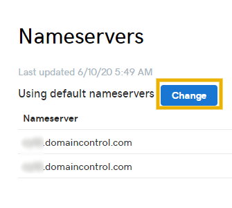 change nameservers on godaddy to install cloudflare ssl on godaddy
