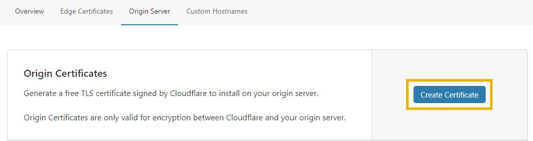 install cloudflare origin certificate on godaddy to install cloudflare ssl on godaddy