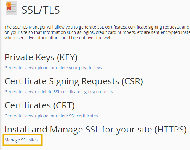 manage ssl sites on godaddy to install cloudflare ssl on godaddy