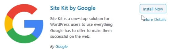 site kit by google for wordpress